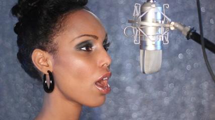 Studio singer.