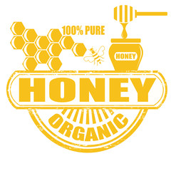 Honey stamp