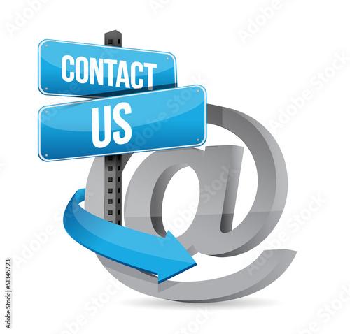 E mail contact us at sign