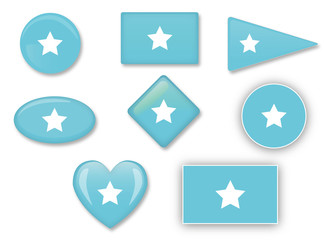 Somalia flag set