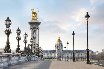 Paris Fance Pont Alexandre III