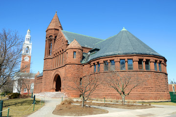 Billings Memorial Library, University of Vermont, Burlington