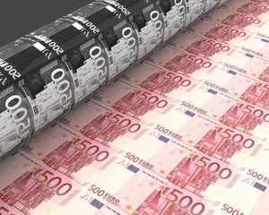 Die Gelddruckmaschine