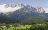 Fototapety Wilder Kaiser - Ellmau in Tirol