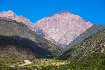 Mountains in Mendoza, Argentina