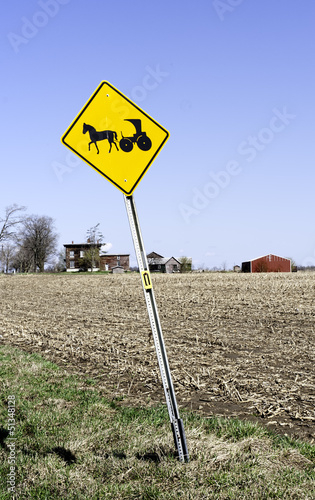 Amish sign in Nelliston, New York