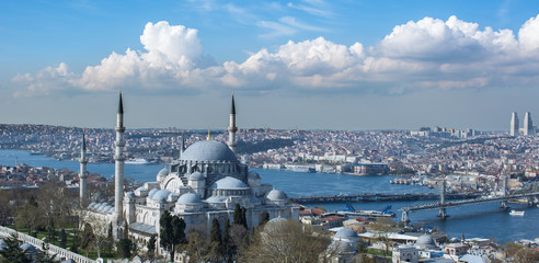 Istanbul city ​​view