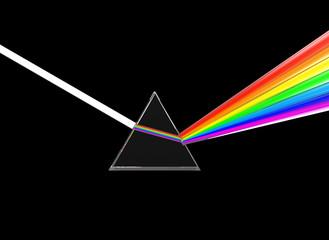 prism dividing light