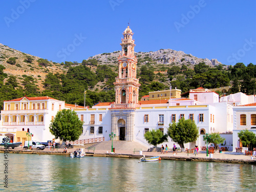 The monastery of Panormitis on the Greek island of Symi