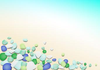 Toropical Beach Glass