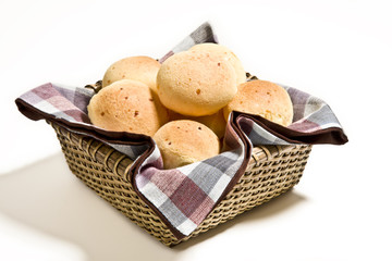 Brazilian cheese buns.
