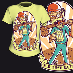 T-Shirt Print Baseball