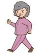 ウオーキング(高齢者 女性)