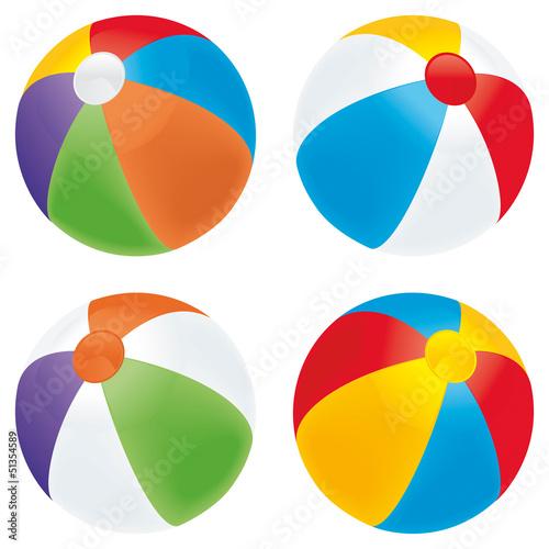 Beach ball variety - 51354589