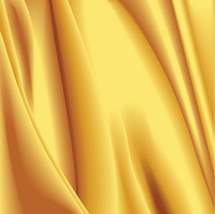 Golden Satin Texture