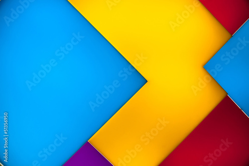 Abstract backlit colored tiles