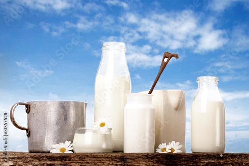 Leinwandbild Motiv himmlisch frische Milch