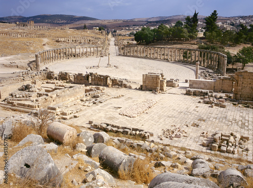 Oval forum of Jerash
