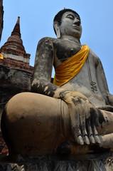Wat Yai Chaimongkol   Ayutthaya Thailand