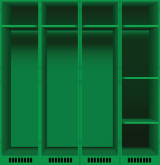 Opening of lockers