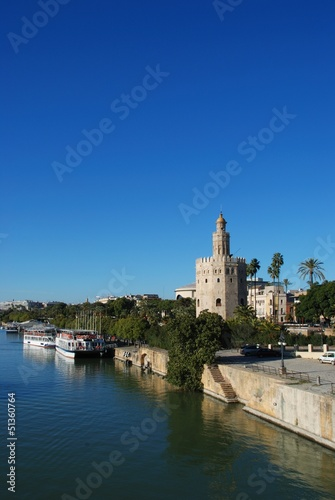 Torre del Oro, Seville, Andalusia © Arena Photo UK
