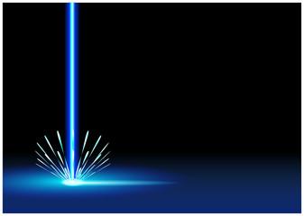Laserschneiden Hintergrund