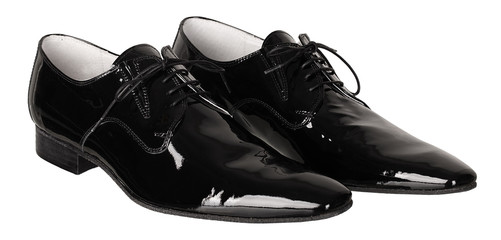 Mens black dancing pair of shoes
