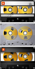 Analog Audio Cassette tape