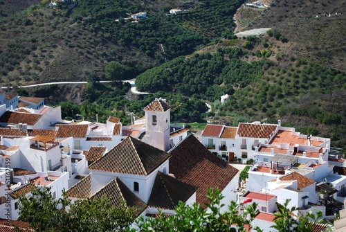 White village, Frigiliana, Andalusia © Arena Photo UK