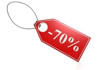 70 percent discount