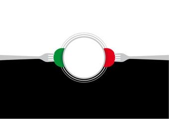 Sfondo gastronomia italiana