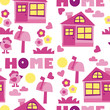 home background – vector illustration