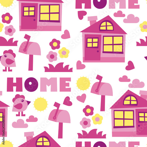 home background – vector illustration - 51363755