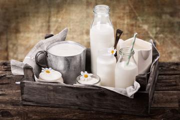 frische Milch - rustikal