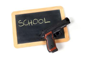 Pistola a scuola