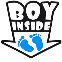 Boy Inside Feets
