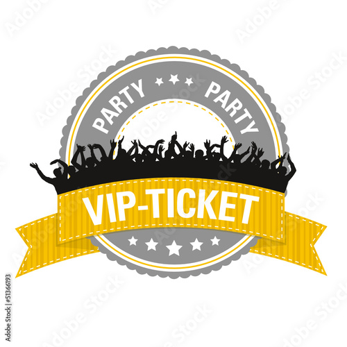 Button: Party VIP-Ticket