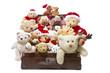 Viele Teddybären wünschen im Team ein Frohes Fest!