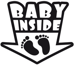 Baby Inside Feets
