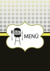 BBQ Menü- Karte