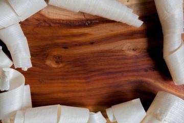Zwetschke Pflaume Holzspan