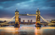 roleta: Tower bridge sunset