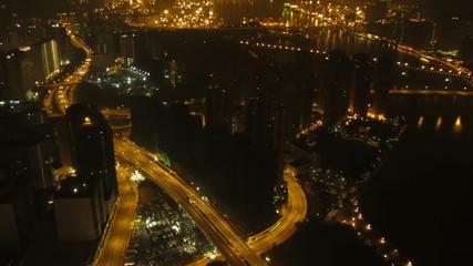 Hong Kong night timelapse
