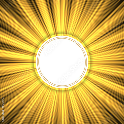 golden grunge rays background