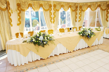 Top Table at wedding reception