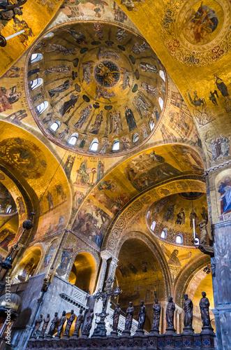 Plexiglas Venice Dome of Basilica di San Marco, Venice