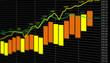 Tableau Croissance Financière jaune orange