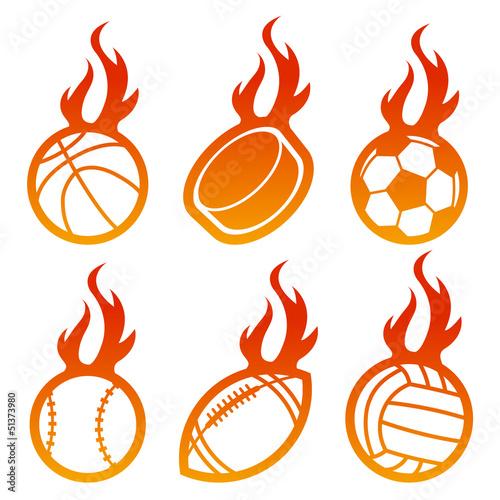 Fire Sport Balls