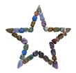 Five Point Crystal Healing Star