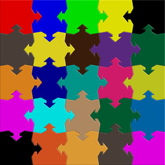 arrows puzzle mix